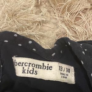 abercrombie kids Other - abercrombie kids size 13/14 navy and white romper